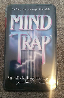 MIND TRAP - Board / card Game (Paul Lamond Games) - sealed and unplayed