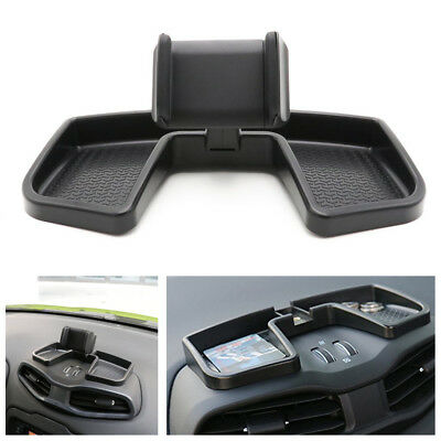 Car Dash Phone 360° Rotate With ABS Storage Box GPS Holder Auto Mobile Stand Kit