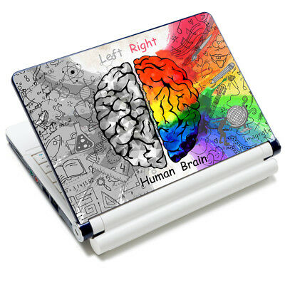 "Brain Laptop Sticker Skin Cover Decal For 13"" 14"" 15"" 15.6"" HP Dell Acer Macbook"