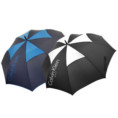 Calvin Klein Golf 2017 CK Stormproof Vented Double Canopy Umbrella