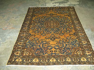 Antique Persian Malayer Senneh Hand Knotted Wool Oriental Rug  4'-6 x 6'-9