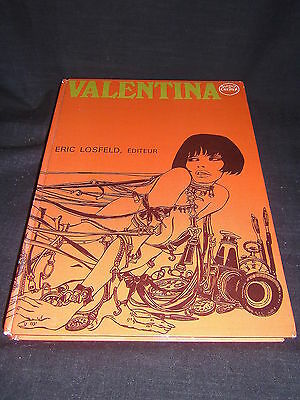 Valentina - Guido Crepax - Eric Losfeld - ©1969 French Hardback Graphic Novel