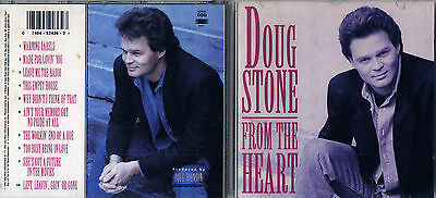 From the Heart by Doug Stone (CD, Aug-1992, Columbia) Free Ship #IY10
