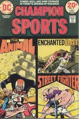 Champion Sports (1973) #2 VG STOCK IMAGE LOW GRADE