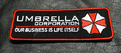 umbrella corporation resident evil 4 INCH  HOOK PATCH