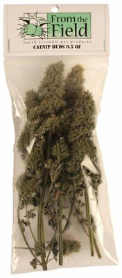 From The Field Organic Catnip Buds Bag 1/2 Oz American Grown Dried.free Ship Usa