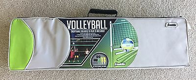 NIB Franklin Sports Complete Volleyball Set in carry case