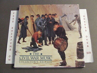 The Civil War Music Collector's Edition 3 Cd Box Set With Insert