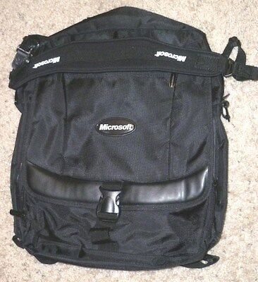 Microsoft Backpack Rucksack Travel Laptop Bag Adjustable