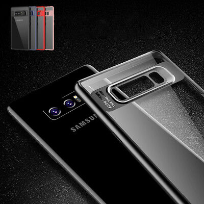 Samsung Galaxy Note 9 Slim Case Luxury Clear Back Cover Shockproof Bumper S8 S9