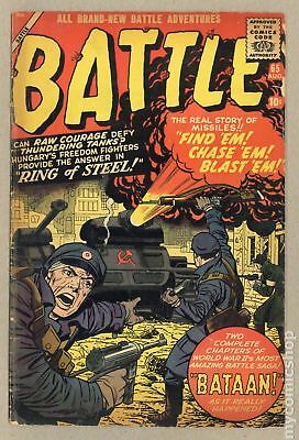 Battle (1951 Atlas) #65 GD 2.0