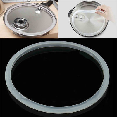Pressure Cooker Seal Ring Silicone Rubber Clear Gasket Replacement Home 22-30cm