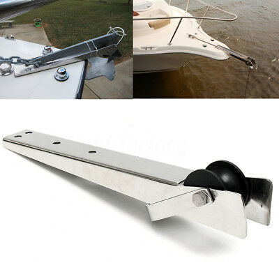 316 Stainless Steel Marine Boat Bow Anchor Self Launching Bow Rollers Heavy Duty