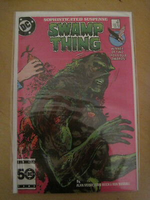 SWAMP THING 43 by ALAN MOORE. DC COMICS.1985. FN+