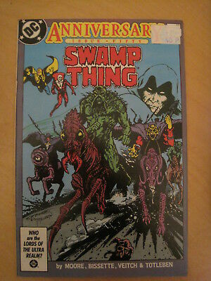 SWAMP THING 50. G/S issue  by ALAN MOORE, BISSETTE, VEITCH etc. DC COMICS.1986