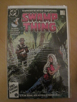 SWAMP THING 54. By ALAN MOORE, VEITCH & ALCALA. DC COMICS.1986