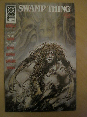 SWAMP THING ANNUAL 5 By NEIL GAIMAN, MIKE MIGNOLA, RAYNER etc. DC COMICS.1989