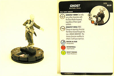 Heroclix - #009 Ghost - Undead