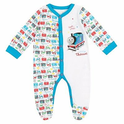 Baby's Thomas the Tank Sleepsuit | Baby Unisex Thomas the Tank Engine Pyjama