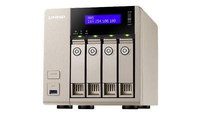 NEW! QNAP TVS-463-4G 24TB 4 x 6TB SGT-IW 4 Bay NAS Unit with 4GB RAM