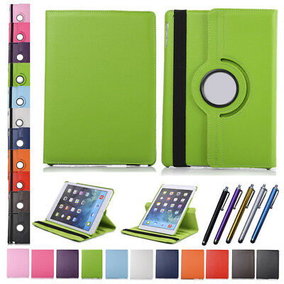 360° Rotating Smart Leather Case Cover For Apple iPad 2 3 4 5 6 Air Mini Stand