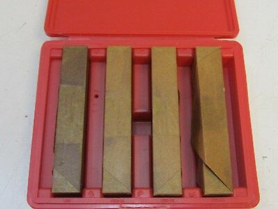 """MHC 8 Piece Precision Parallel Set 1 to 1-3/4"""" Height 1/2"""" Thick New"""