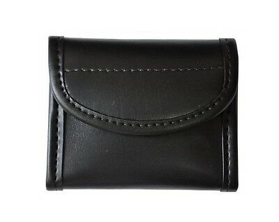 Bianchi 22961 AccuMold Elite Flat Latex Glove Pouch Plain Black Leather