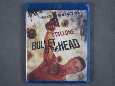 Brand New Sealed Sylvester Stallone in Bullet To The Head on Blu-Ray