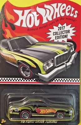 Hot Wheels 2017 KMart Mail-in Exclusive Collector Edition 76 FORD GRAN TORINO