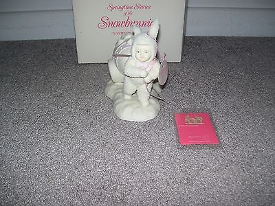 """Dept. 56 Springtime Stories Of The Snowbunnies """"Easter Delivery"""" New In Box"""