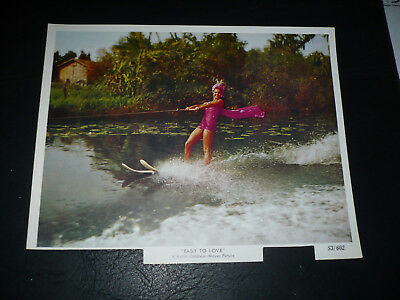 EASY TO LOVE, orig 8x10 [Esther Williams on water skiis] -- 1953