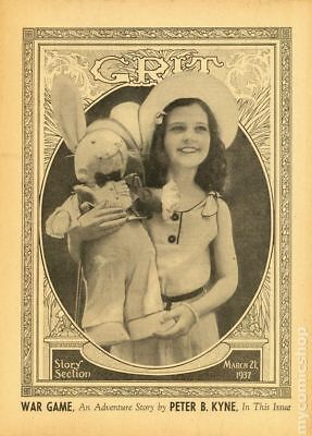 Grit Story Section (c. 1916) #Year 1937, Month 3MAR21 VG+ 4.5 STOCK IMAGE