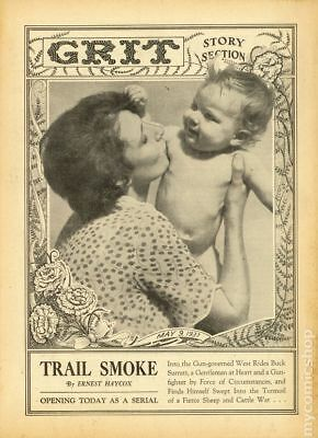 Grit Story Section (c. 1916) #Year 1937, Month 5MAY09 FN- 5.5 STOCK IMAGE
