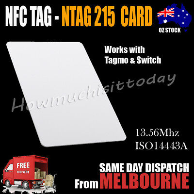 NTAG215 NFC Card Tag For TagMo Forum Switch Type2 Sticker tags chip