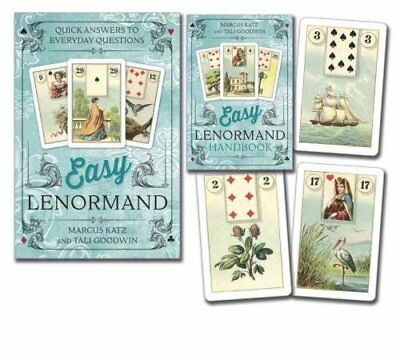 Easy Lenormand Quick Answers to Everyday Questions by Marcus Katz 9780738747125