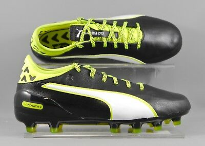Puma (103750-01) Evotouch 2 AG adults football boots - Black/Yellow