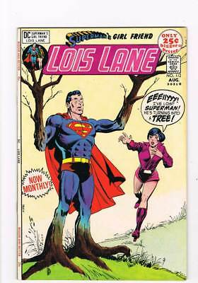 Lois Lane # 112 A Tree Grows in Metropolis ! grade 8.0 scarce book !!