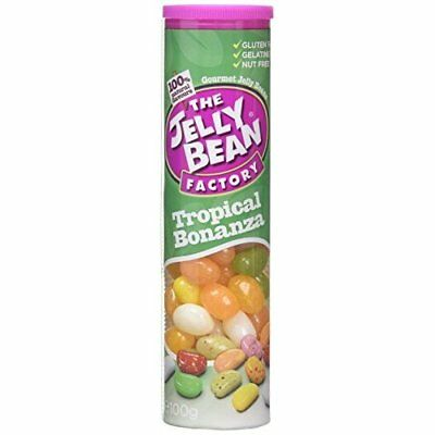 The Jelly Bean Factory Mixers - Tropical Bonanza 100 g (Pack of 6)