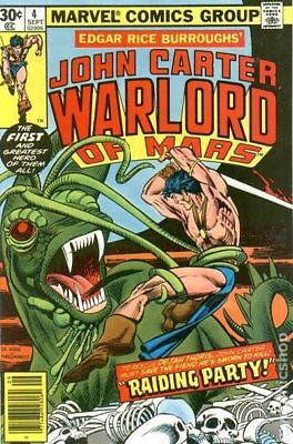 John Carter Warlord of Mars (1977 Marvel) #4 FN STOCK IMAGE