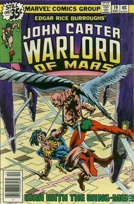 John Carter Warlord of Mars (1977 Marvel) #19 FN STOCK IMAGE