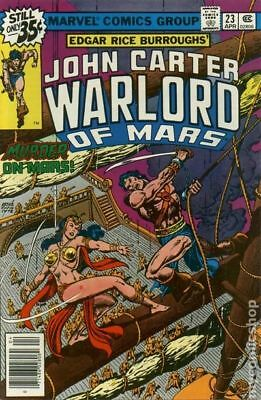 John Carter Warlord of Mars (1977 Marvel) #23 FN STOCK IMAGE