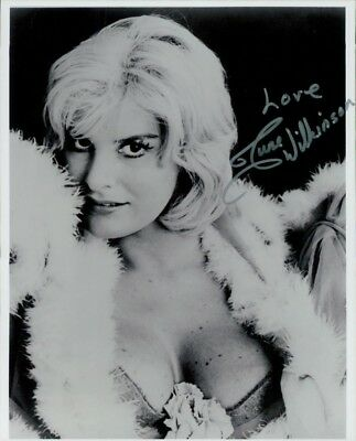 June Wilkinson autographed 8x10 Photo COA