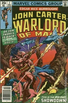 John Carter Warlord of Mars (1977 Marvel) #7 FN STOCK IMAGE