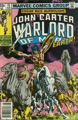 John Carter Warlord of Mars (1977 Marvel) #15 FN 6.0 STOCK IMAGE