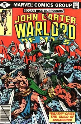 John Carter Warlord of Mars (1977 Marvel) #26 FN STOCK IMAGE