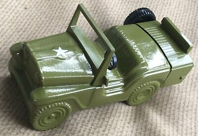Avon Military US Army Jeep Vintage Decanter Wild Country After Shave EXC