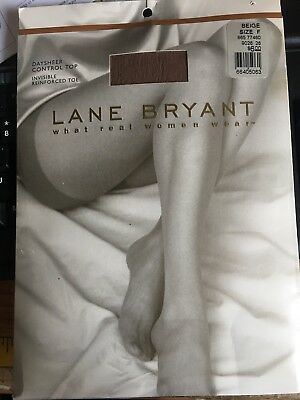 eacb82594bc NEW  25 LOVE Me Lane Bryant Thigh Highs Plus Size C-D Stockings ...