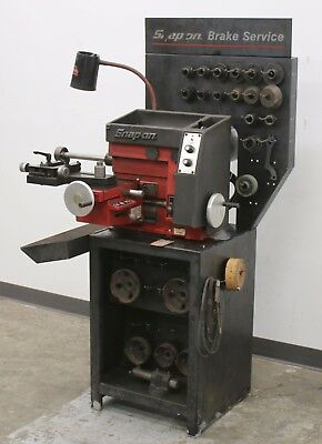 Snap On Tools EEBR300A Disc & Drum Brake Lathe Machine for Automotive Service