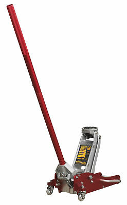 RJA1550 Sealey Trolley Jack 1.5tonne Low Entry Aluminium Rocket Lift