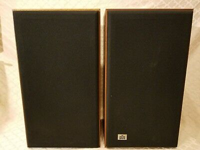 Pair ADS L500 2-Way Speakers, Excellent Sound. Tested. Nice Condition !!!